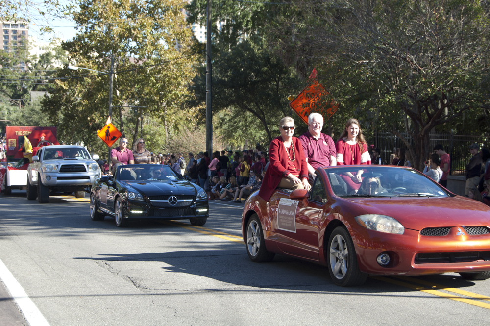 FSU Homecoming Parade, procession