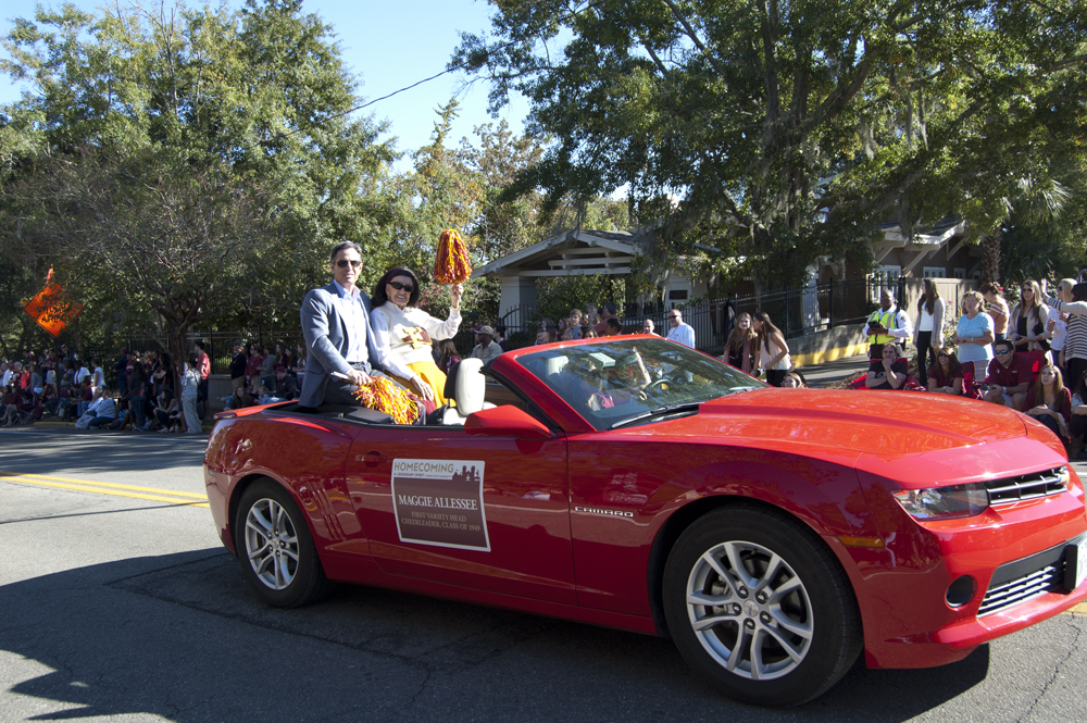 FSU Homecoming Parade, Maggie Allessee