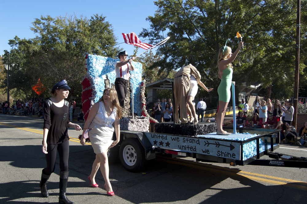 FSU Homecoming Parade, Float