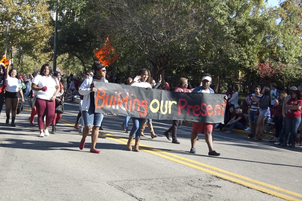 FSU Homecoming Parade, building our present
