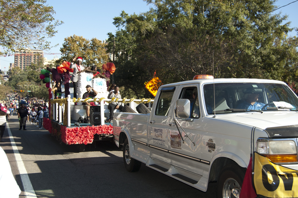 FSU Homecoming Parade, Student Union Float