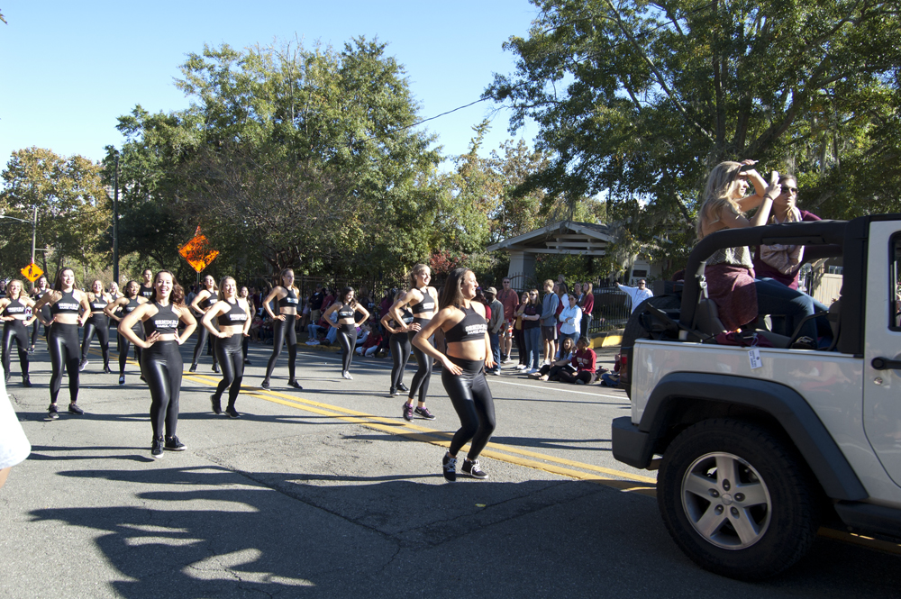 FSU Homecoming Parade, FSU dance team