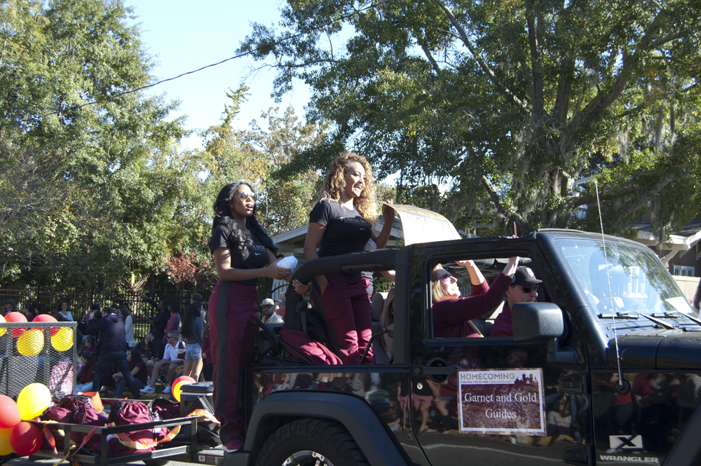 FSU Homecoming Parade, Garnet & Gold Guides