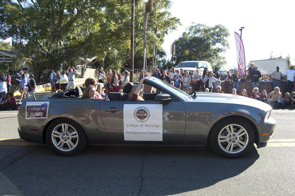 FSU Homecoming Parade, College of Nursing