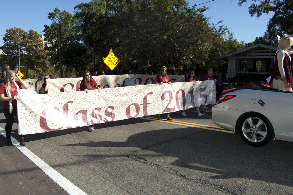 FSU Homecoming Parade, Class of 2015