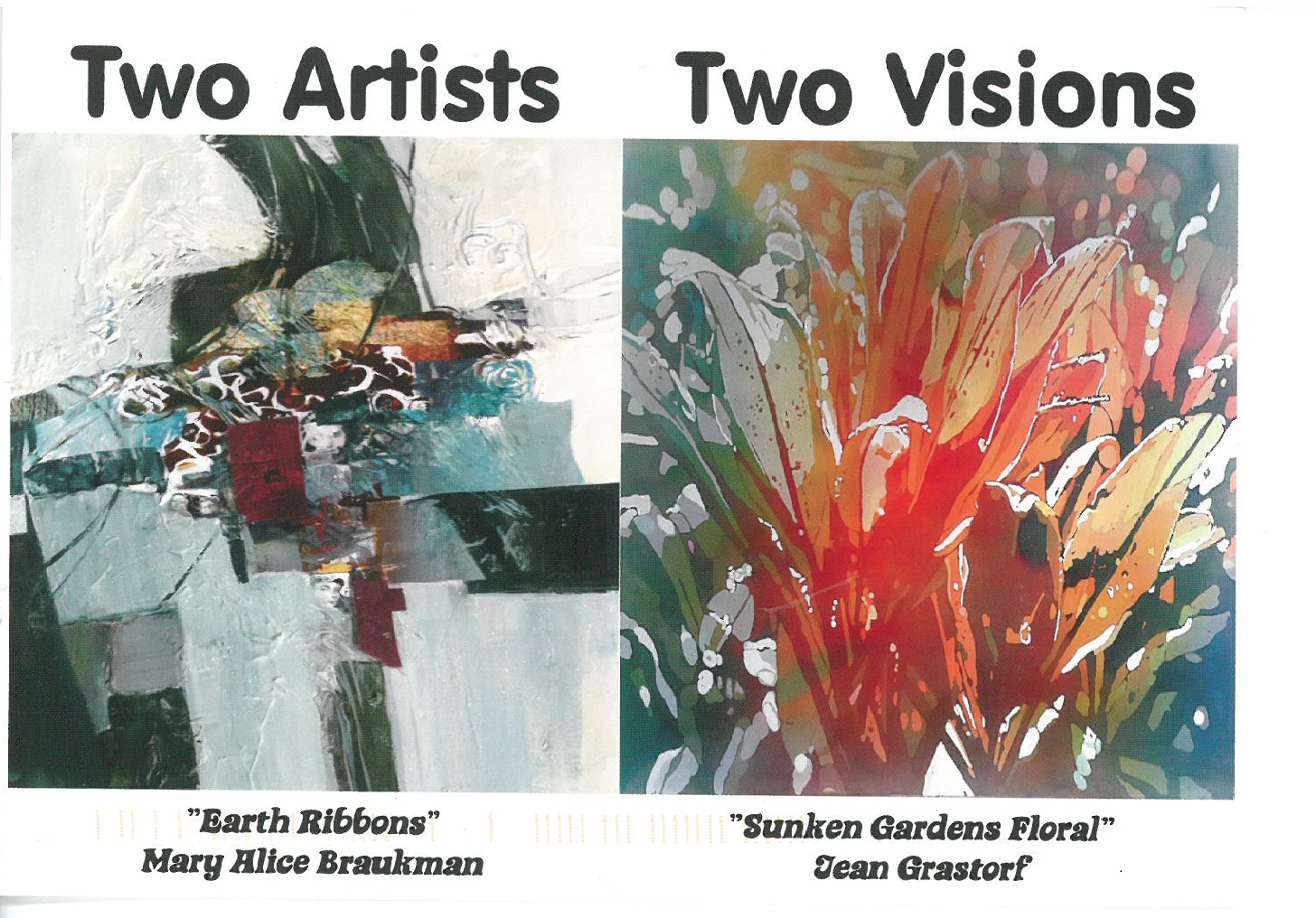 Two Artists Two Visions
