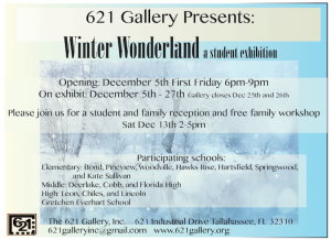 December First Friday at 621 Gallery