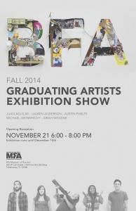 Fall 2014 FSU Art BFA Graduating Artist Exhibition