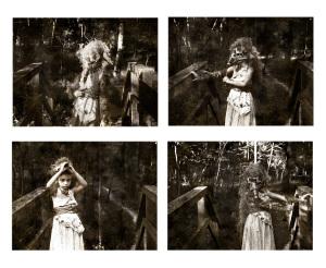 """Stills from """"Doll (Act III),"""" a short film by MANDEM"""