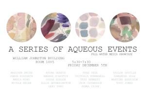 A Series of Aqueous Events-Fall Water Media Showcase