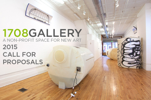 1708 Gallery: Submit! Open Call For Proposals