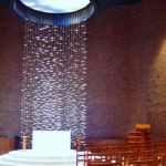 MIT Chapel altar by Harry Bertoia