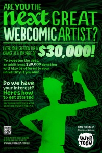 LINE Webtoon (web comic) Contest