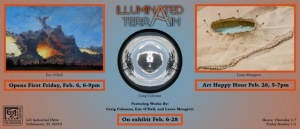 February First Friday at 621 Gallery, 6-9PM