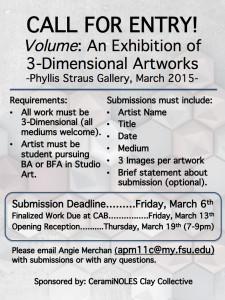 3D Exhibition: Ceramics & Sculpture