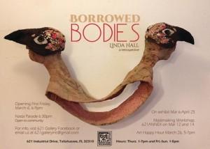 Borrowed Bodies, a retrospective, by Linda Hall