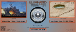 February 6th, First Friday at 621 Gallery, 6-9pm, opens with two exhibitions