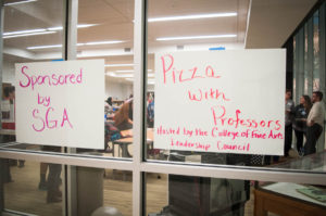 CLC Presents: Pizza With Professors
