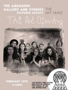 "Art Nunz's ""Art Opening"" @ Aquarium Gallery"