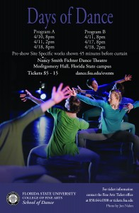 Days of Dance poster