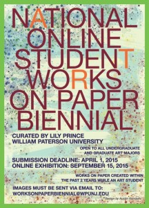 ONLINE STUDENT WORKS ON PAPER BIENNIAL EXHIBITION