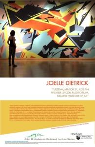 Joelle Dietrick Talks at Penn State