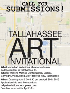 Tallahassee Art Invitational Call For Submissions