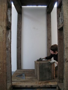 Sara Black and John Preus, Rebuilding Mayfield, 2010. Museum of Contemporary Craft, Portland