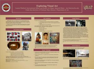 Exploring Visual Art: UROP presentation by Lauren Watford