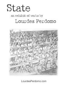 Lourdes Perdomo: Exhibition, STATE, at Georgia Perimeter Fine Arts Gallery