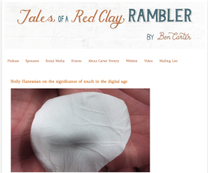 Holly Hanessian: Podcast on Tales of the Red Clay Rambler