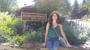 BFA '16 Colleen O'Neill: Anderson Ranch Experience