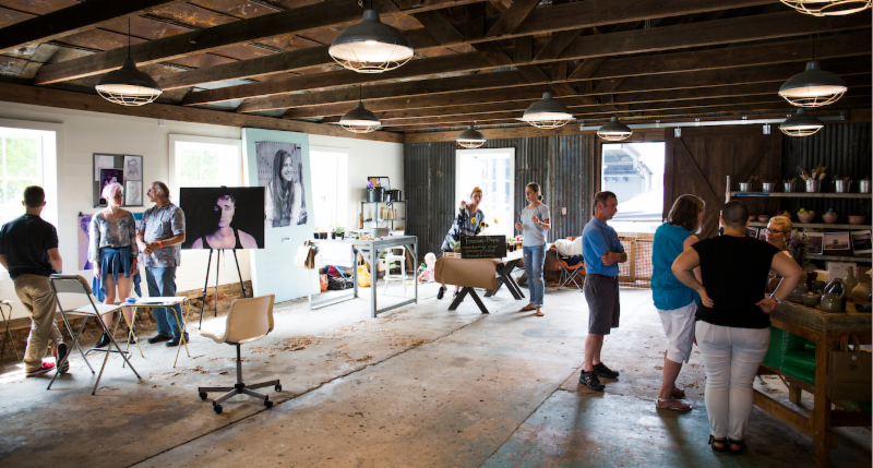 Thomasville Snapshot: First Friday at Studio 209, Early Bird Registration, and Whet Your Palette