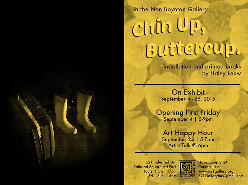 MFA '15 Haley Lauw: September exhibition in the Nan Boynton Gallery