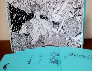 Coloring Book 'Quiet Magic' by FSU Art '15 BFA Caitlin Hare released!