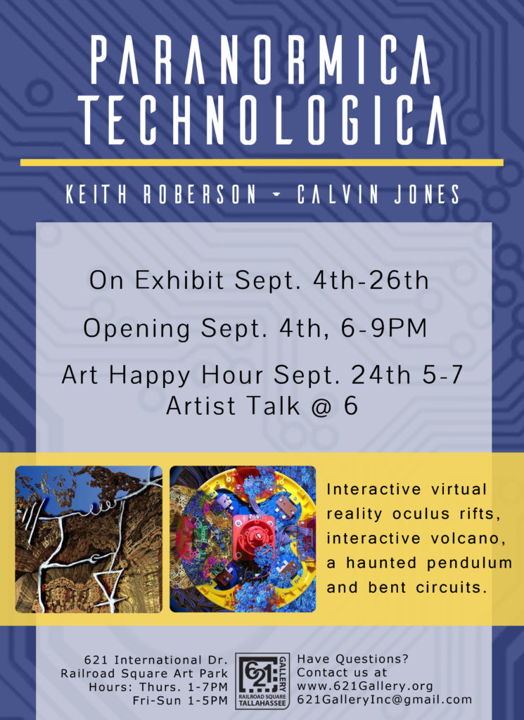 Keith Roberson and Calvin Jones: Paranormica Technologica, 621 Gallery