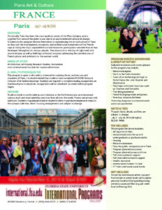 Paris Program