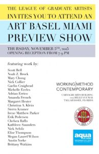 Art Basel Preview Show