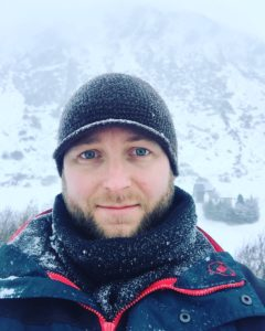 Me on a shoot last December in the Austrian Alps. It was rather cold.