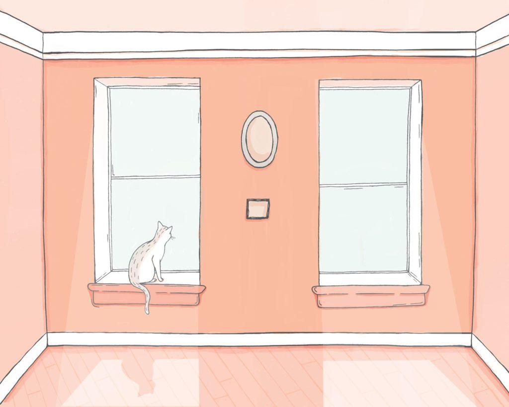 Cat in Window - Sunny Eckerle