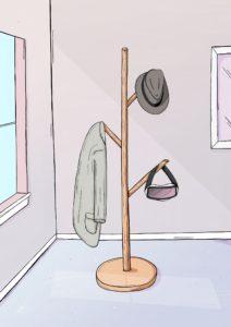 Coat hanger - Sunny