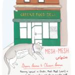 Cat outside Greene Food Deli
