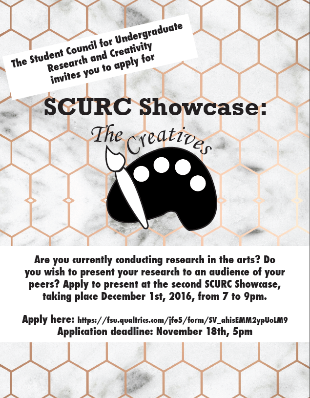 SCURC Showcase: The Creatives