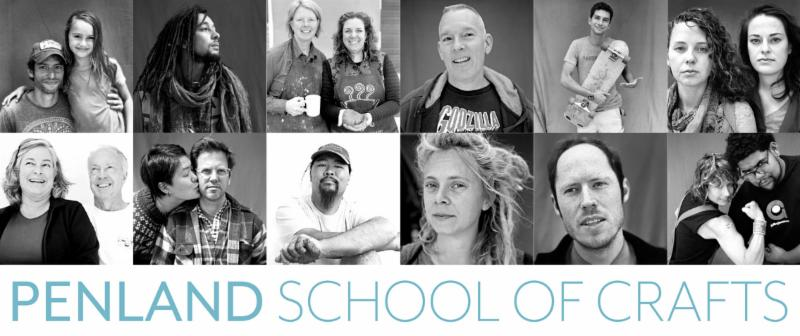 Penland's summer 2017 workshop listings are here!