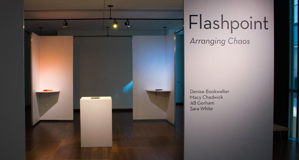 Flashpoint exhibition at WJB Gallery, Jan.2017