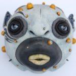 An alien-like piece by Brad Blair