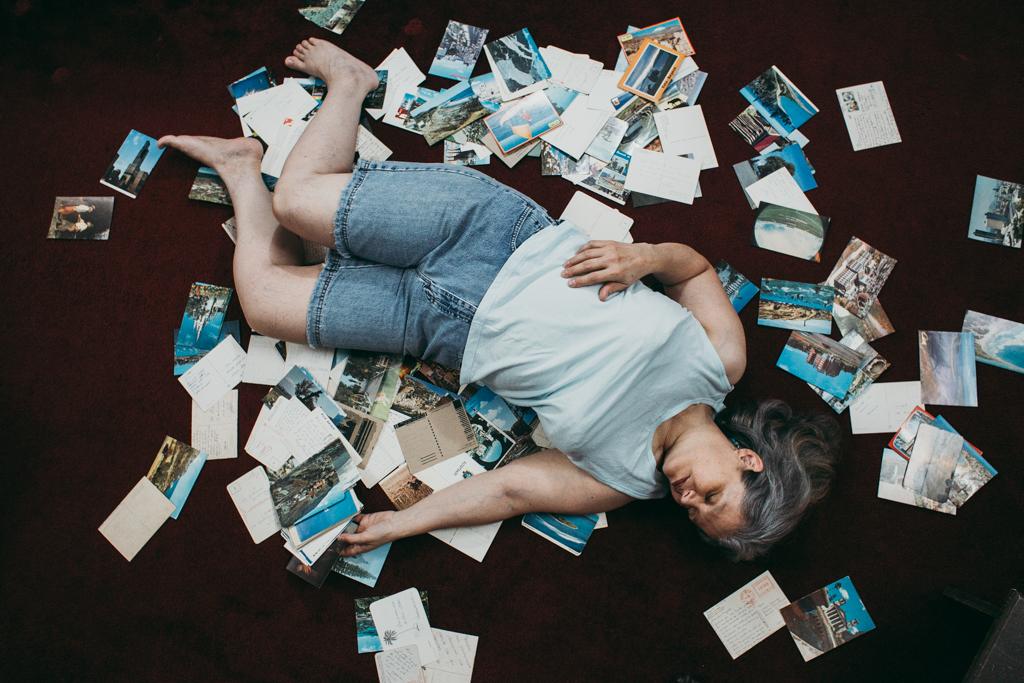 Melissa Artieda's photo of a woman atop photos.