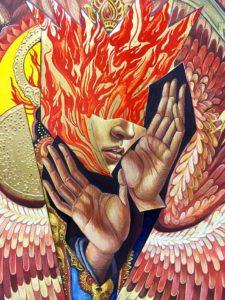 "Detail: ""Seraphim"" 2017 Baade"