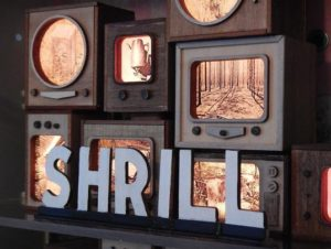 """Shrill"" by Amy Fleming, an artist who creates mixed media from discarded trash that has been changed through time, is featured in the Marco Island Center for the Arts' November ""By Virtue of Place: FSU MFA Alumni Exhibition."