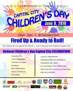 Capital City Children's Day - June 9th - Details.